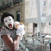 ET the Mime attacked by wild stuffed doll